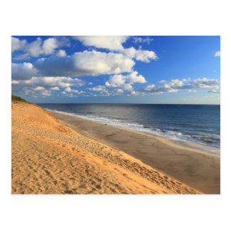 White Crest Beach Cape Cod Ocean Beach Overview Postcard