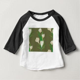 White Crocus Flowers 2 Baby T-Shirt