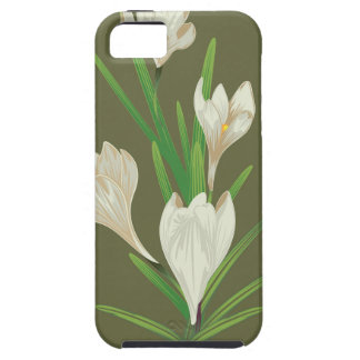White Crocus Flowers 2 iPhone 5 Covers