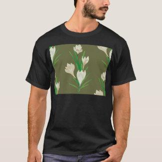 White Crocus Flowers 2 T-Shirt