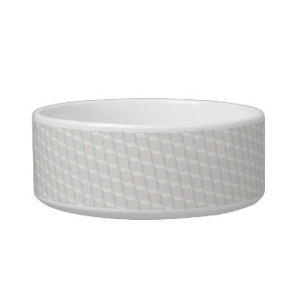White cubes bowl