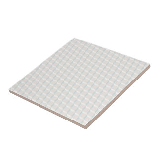 White cubes ceramic tile