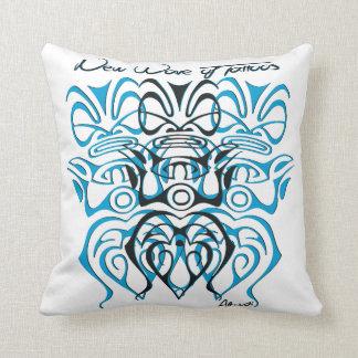 White cushion tiki