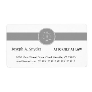White Custom Background Attorney Legal Business