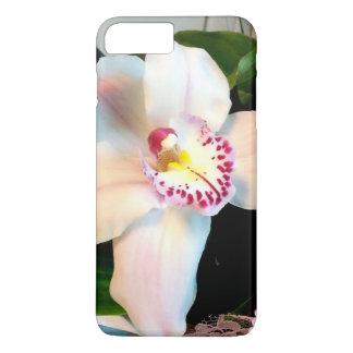 White Cymbidium Orchid iPhone 8 Plus/7 Plus Case