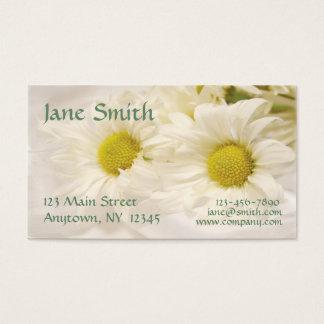 White Daisies Business Card