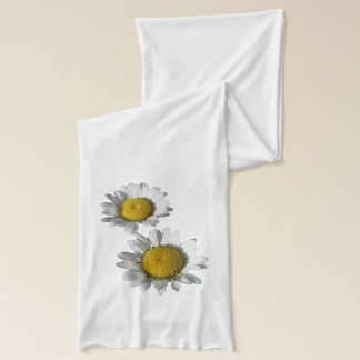 White Daisies show on White Scarf