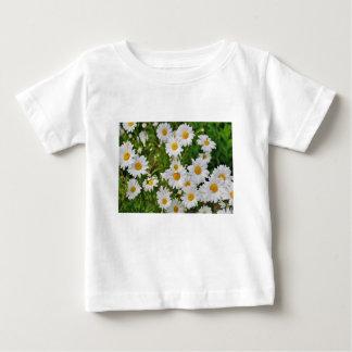 White Daisy Flower Baby T-Shirt