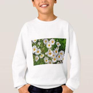White Daisy Flower Sweatshirt