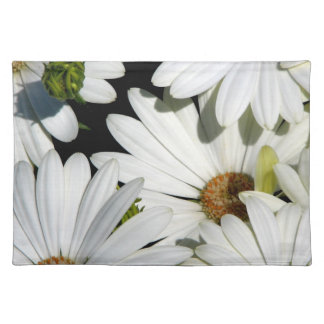 White Daisy Flowers Placemat