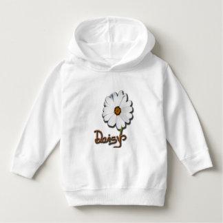 White Daisy Hoodie