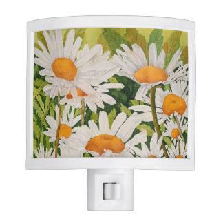 White Daisy Night Light