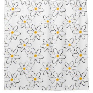 White Daisy Pattern
