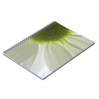 White Daisy Petals Notebook