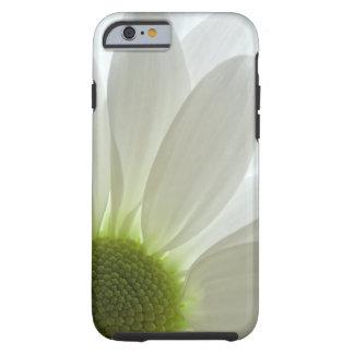 White Daisy Petals Tough iPhone 6 Case