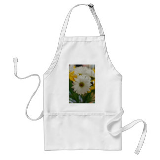 White Daisy Standard Apron