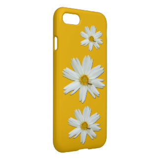 White Daisy Tiny Bee iPhone 8/7 Case