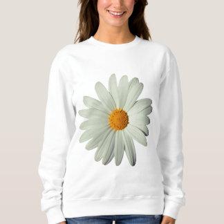 White Daisy White Sweatshirt