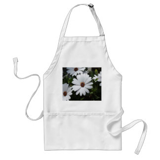 White Daisy's in Bloom Standard Apron