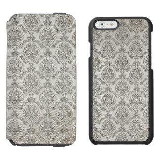 White Damask Incipio Watson™ iPhone 6 Wallet Case