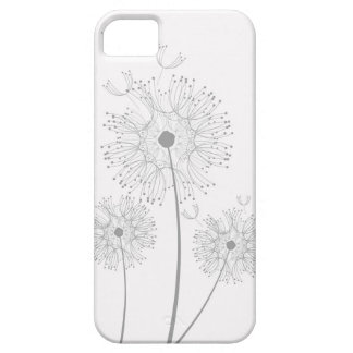 White Dandelion Phone Case