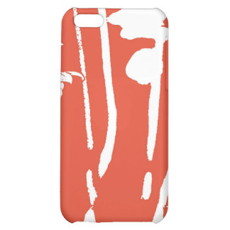 White dasies cover for iPhone 5C