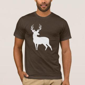 White Deer Silhouette Shirt