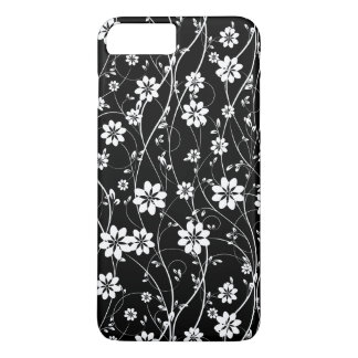 White Delicate Flowers iPhone 8 Plus/7 Plus Case