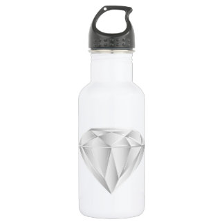 White Diamond for my sweetheart 532 Ml Water Bottle