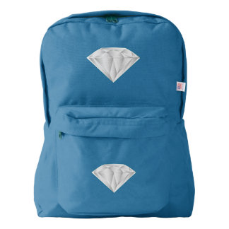 White Diamond for my sweetheart Backpack