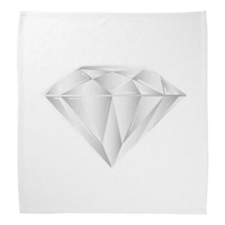 White Diamond for my sweetheart Bandana