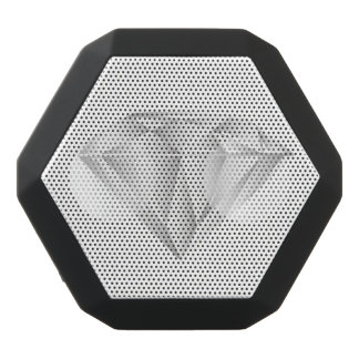 White Diamond for my sweetheart Black Bluetooth Speaker