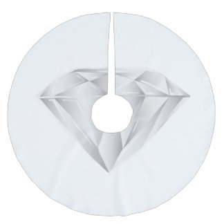 White Diamond for my sweetheart Brushed Polyester Tree Skirt