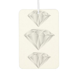 White Diamond for my sweetheart Car Air Freshener