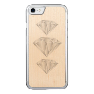 White Diamond for my sweetheart Carved iPhone 8/7 Case