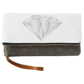 White Diamond for my sweetheart Clutch