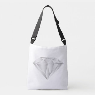 White Diamond for my sweetheart Crossbody Bag