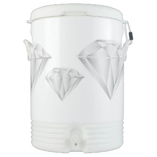 White Diamond for my sweetheart Drinks Cooler