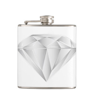 White Diamond for my sweetheart Flask
