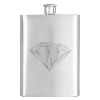 White Diamond for my sweetheart Flasks