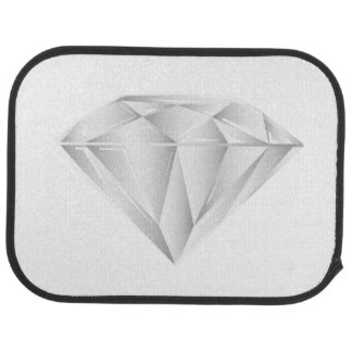 White Diamond for my sweetheart Floor Mat