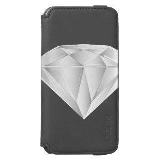 White Diamond for my sweetheart Incipio Watson™ iPhone 6 Wallet Case