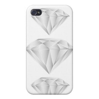 White Diamond for my sweetheart iPhone 4 Case