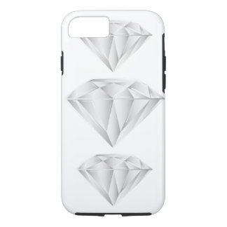 White Diamond for my sweetheart iPhone 8/7 Case