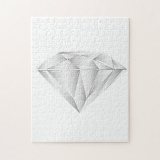 White Diamond for my sweetheart Jigsaw Puzzle