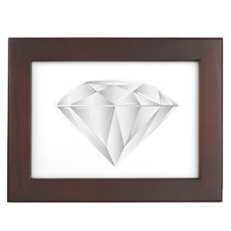 White Diamond for my sweetheart Keepsake Box