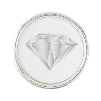 White Diamond for my sweetheart Lapel Pin