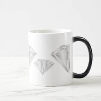 White Diamond for my sweetheart Magic Mug