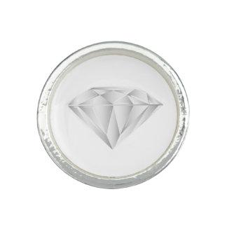 White Diamond for my sweetheart Photo Ring