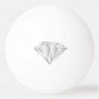 White Diamond for my sweetheart Ping Pong Ball